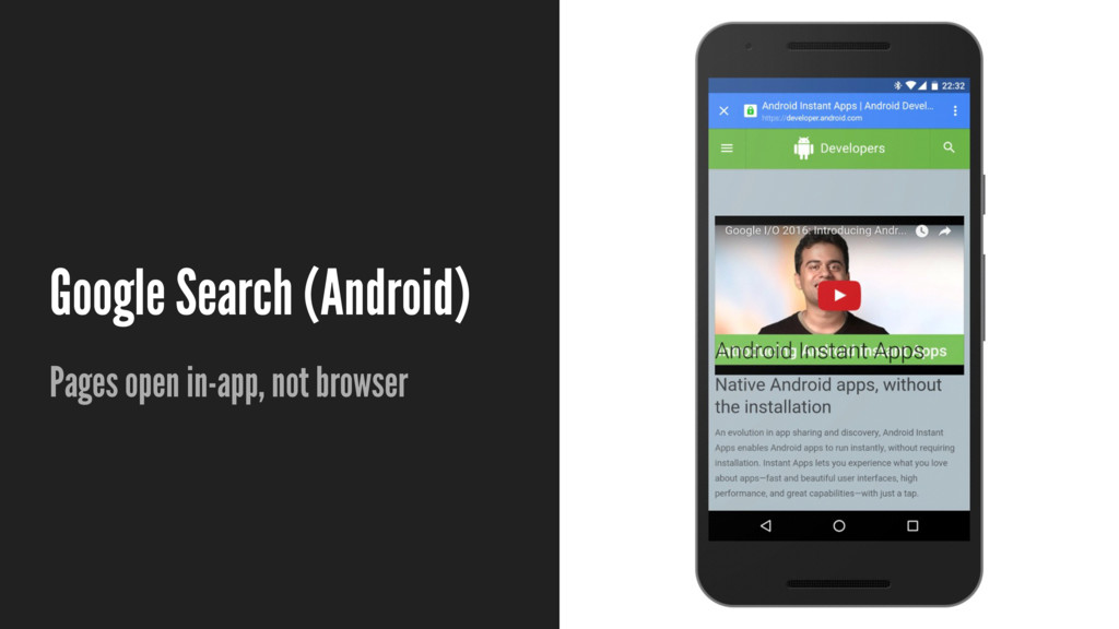 Google Search (Android) Pages open in-app, not ...