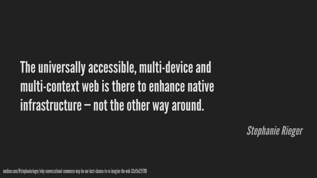 The universally accessible, multi-device and mu...