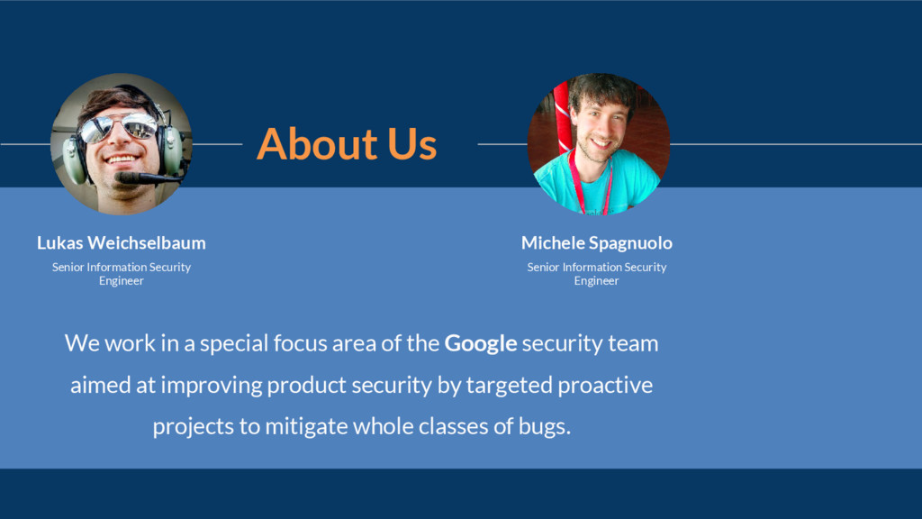 About Us We work in a special focus area of the...