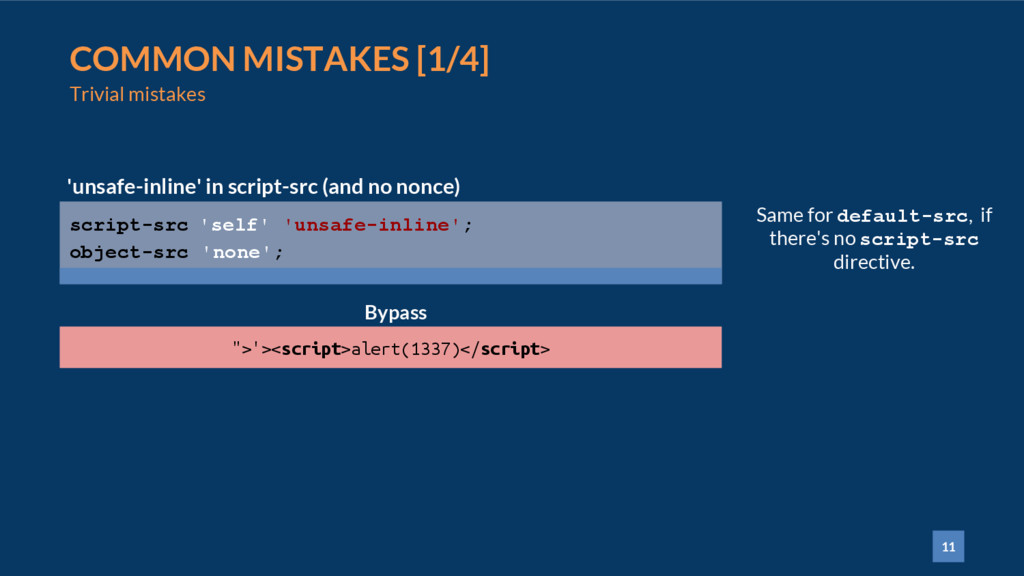 11 COMMON MISTAKES [1/4] Trivial mistakes scrip...