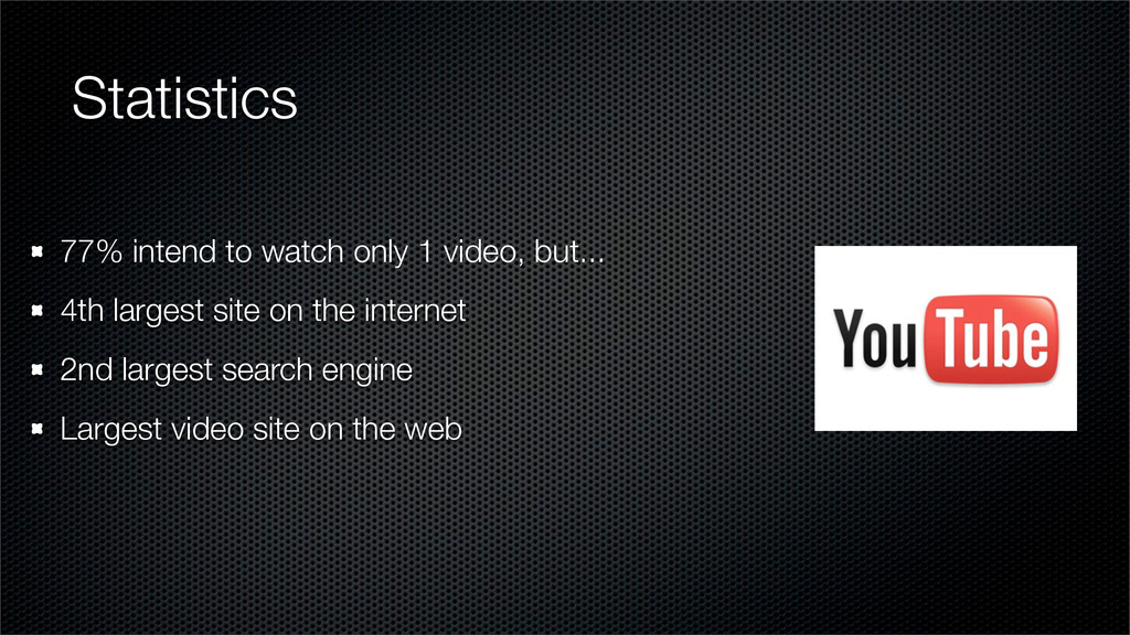 Statistics 77% intend to watch only 1 video, bu...