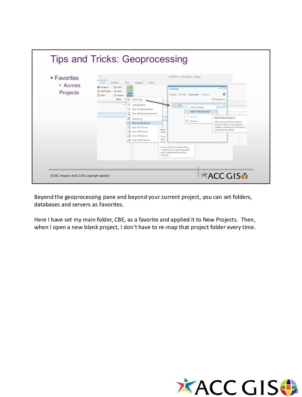 Beyond the geoprocessing pane and beyond your c...