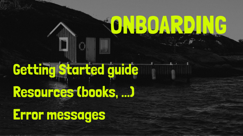 ONBOARDING Getting Started guide Resources (boo...