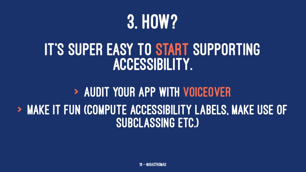 3. HOW? IT'S SUPER EASY TO START SUPPORTING ACC...