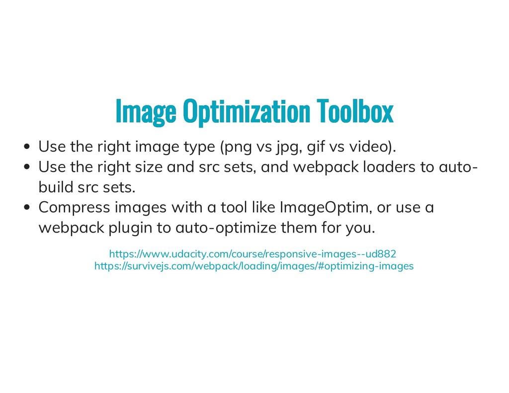Image Optimization Toolbox Image Optimization T...