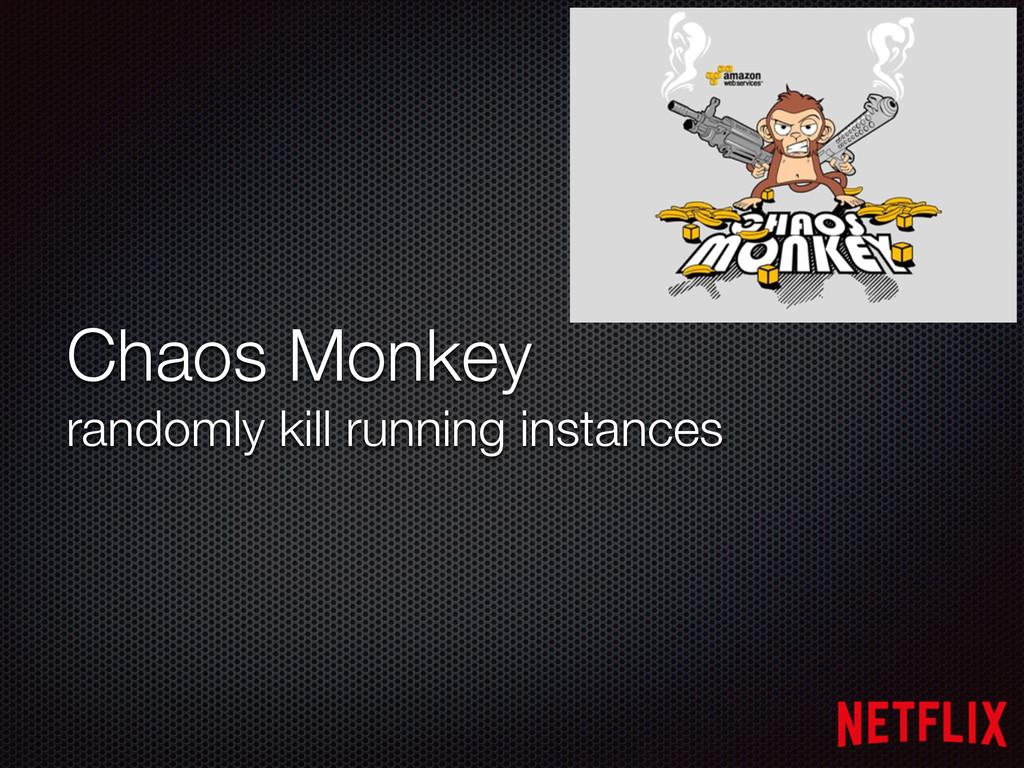 Chaos Monkey randomly kill running instances
