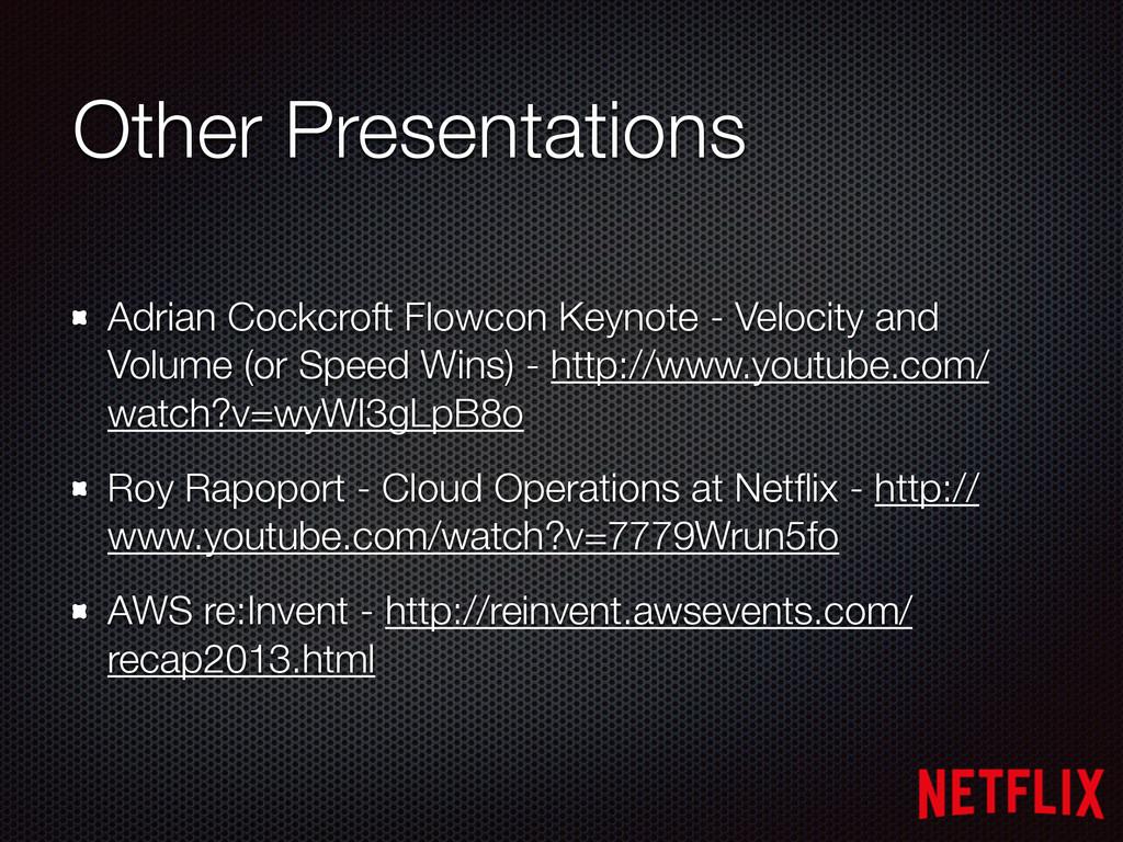Adrian Cockcroft Flowcon Keynote - Velocity and...