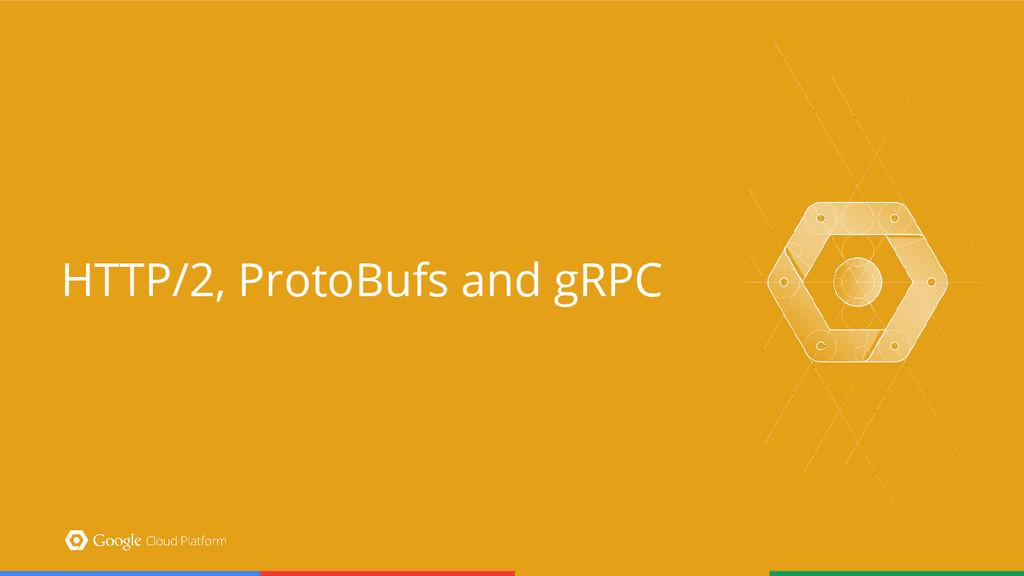 HTTP/2, ProtoBufs and gRPC