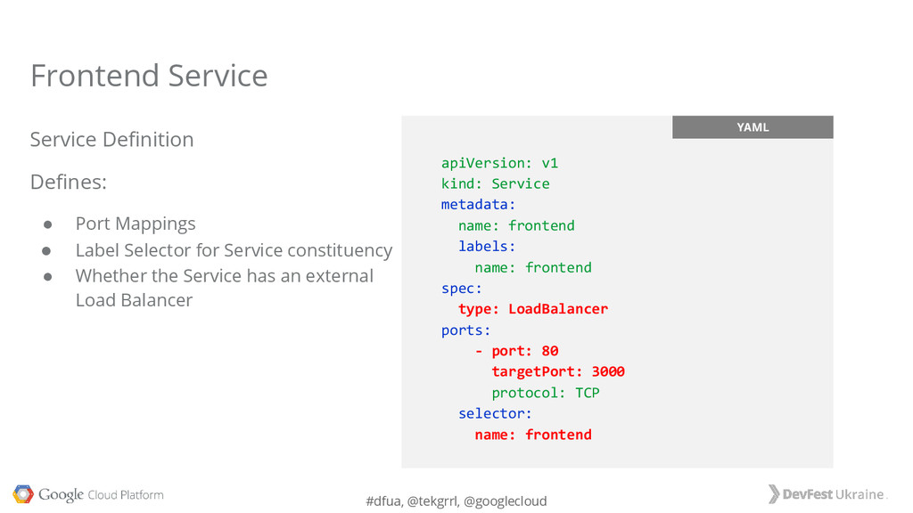 #dfua, @tekgrrl, @googlecloud YAML apiVersion: ...
