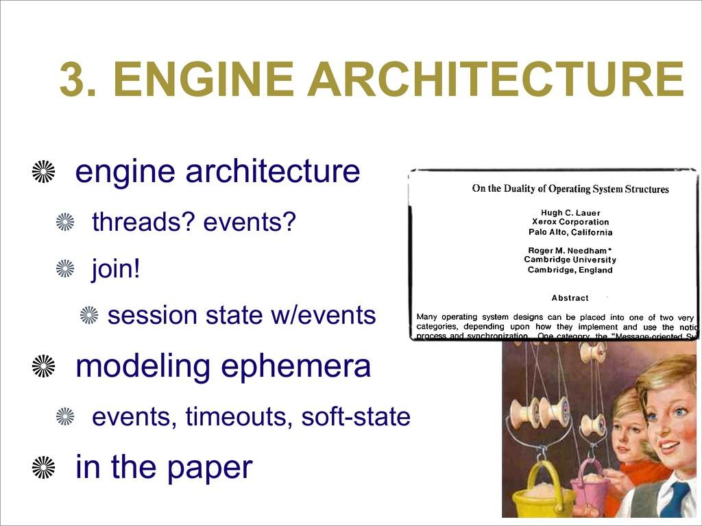 3. ENGINE ARCHITECTURE engine architecture thre...