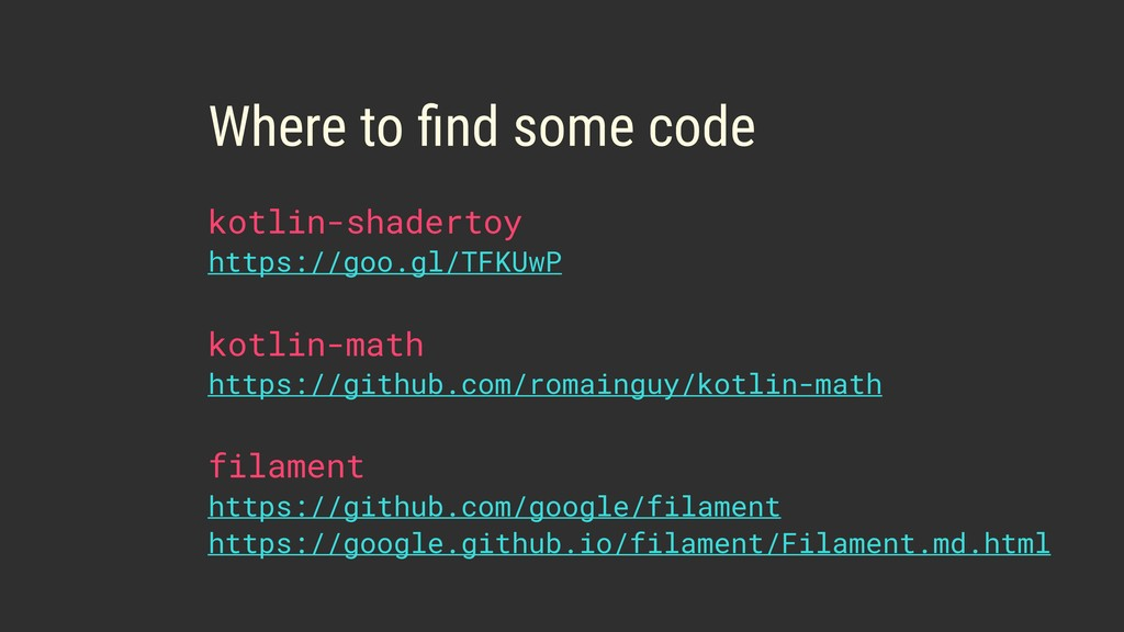 Where to find some code kotlin-math https://git...