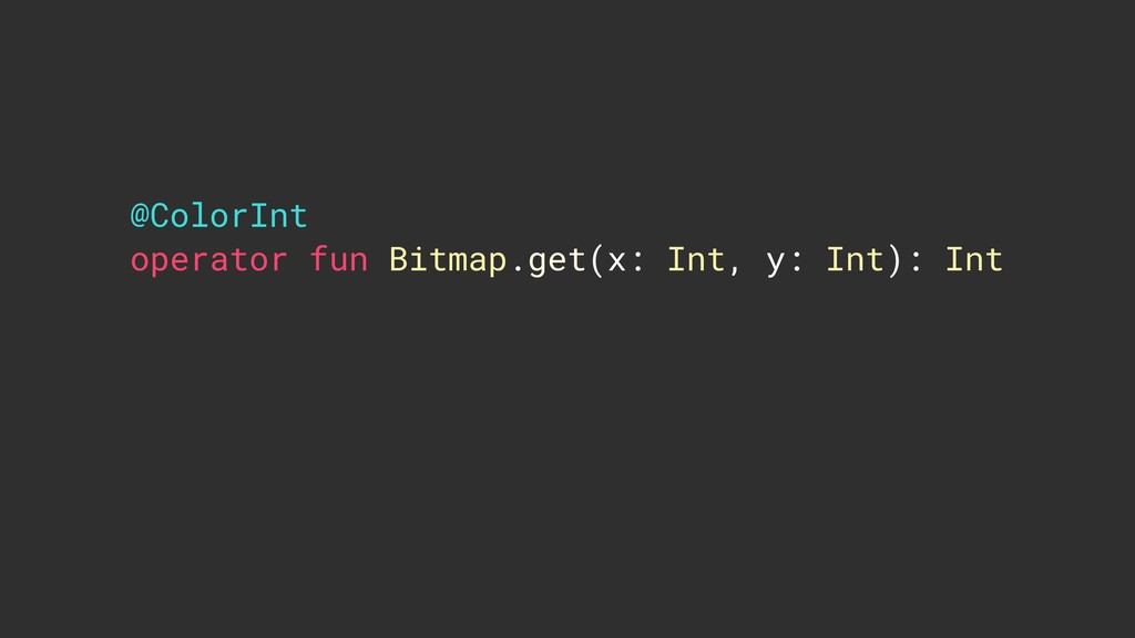 @ColorInt operator fun Bitmap.get(x: Int, y: In...