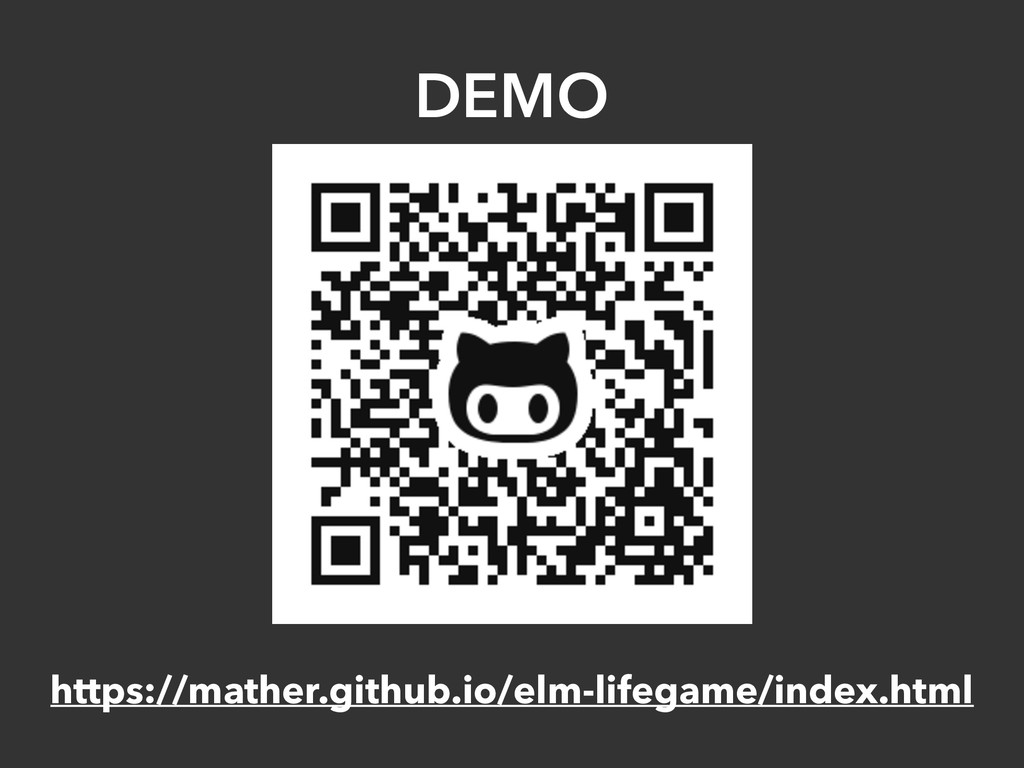 DEMO https://mather.github.io/elm-lifegame/inde...