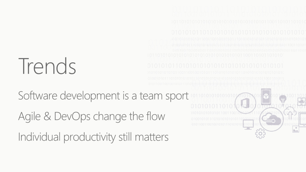 Trends Software development is a team sport Agi...