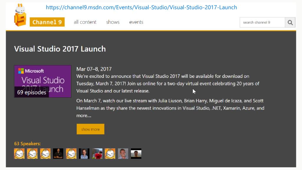https://channel9.msdn.com/Events/Visual-Studio/...