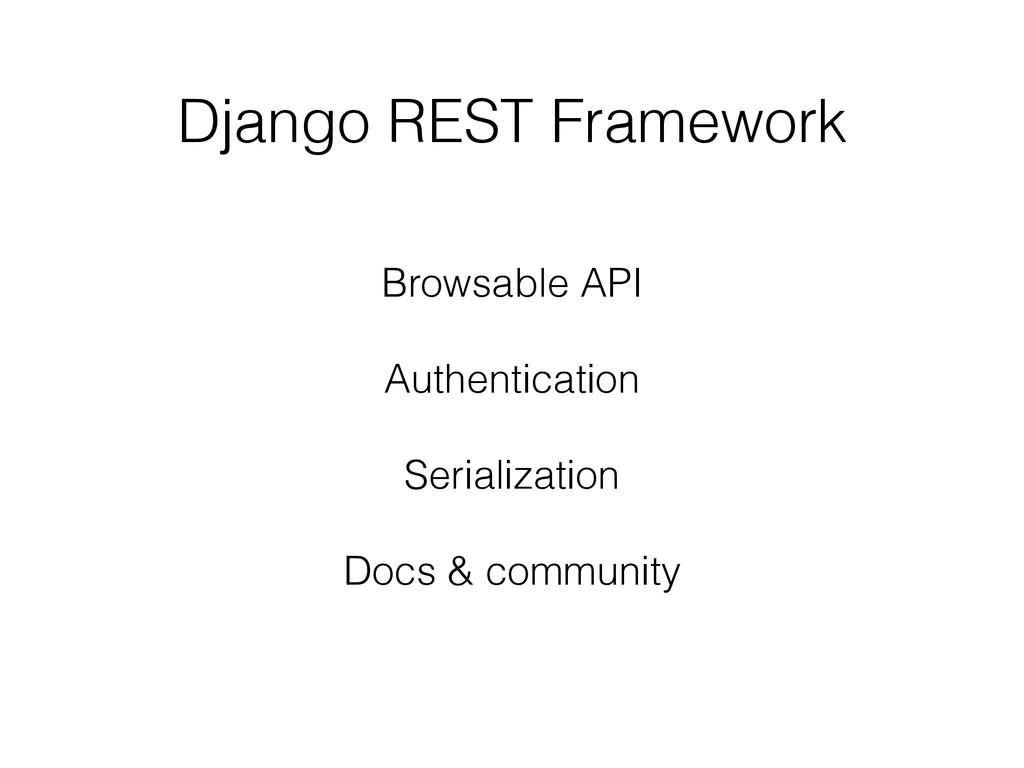 Django REST Framework Browsable API ! Authentic...