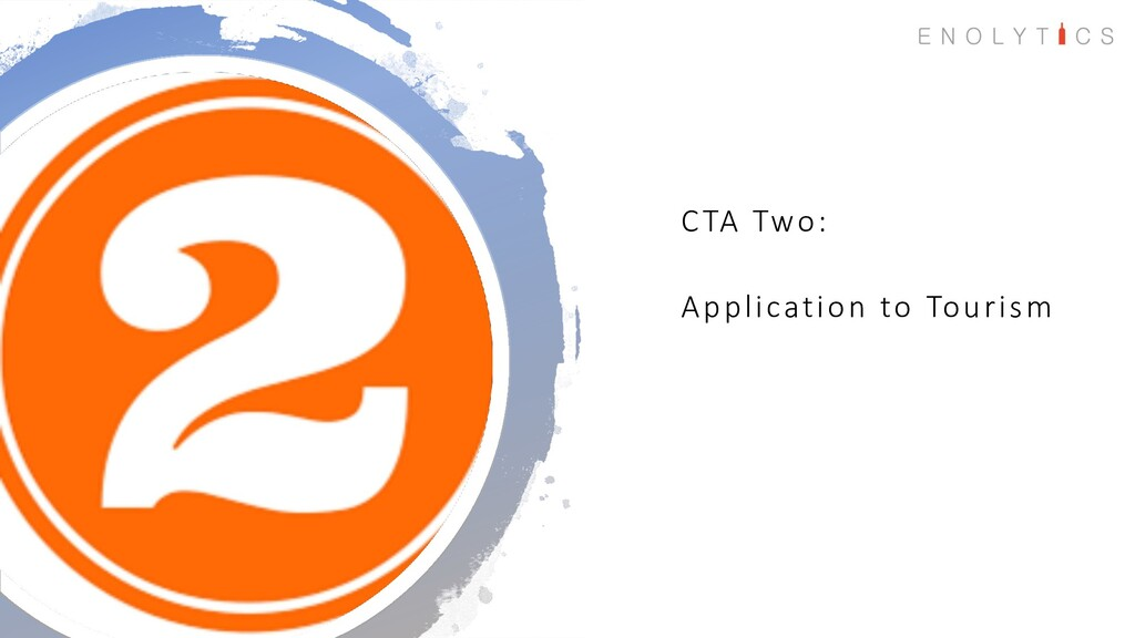 CTA Two: Application to Tourism