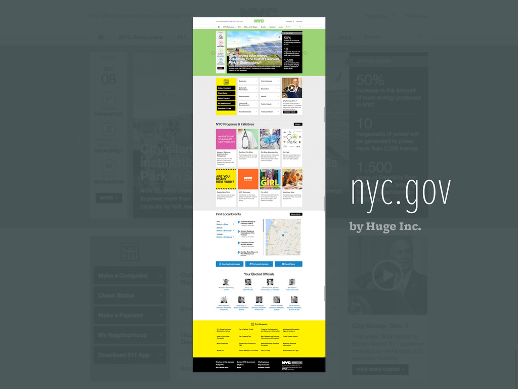 nyc.gov by Huge Inc.