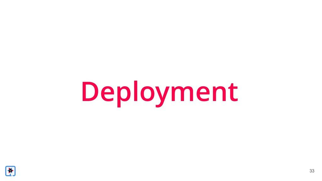 !33 Deployment