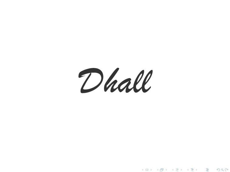 Dhall