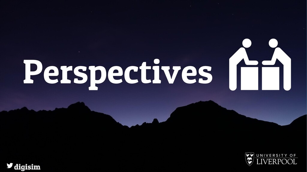 Perspectives digisim