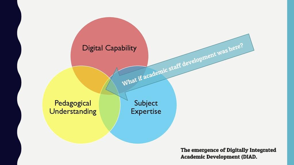 Digital Capability Subject Expertise Pedagogica...