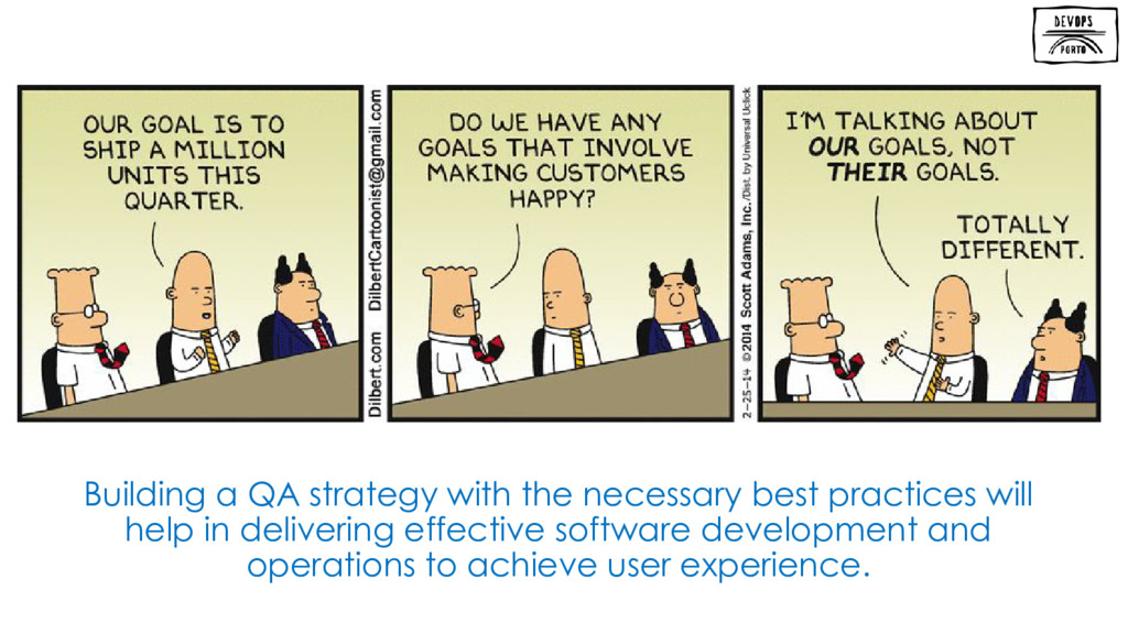 Building a QA strategy with the necessary best ...