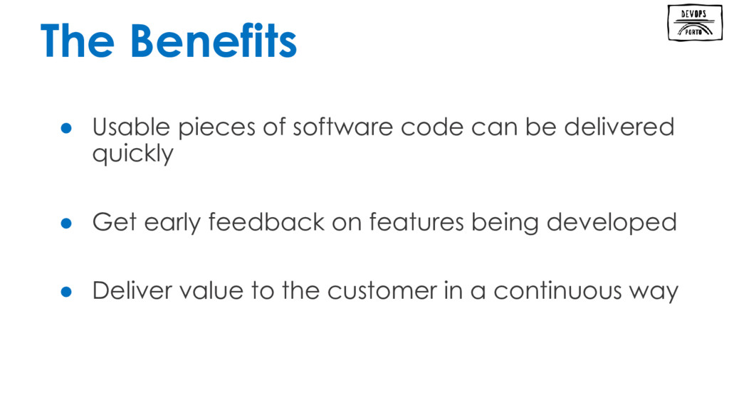 ● Usable pieces of software code can be deliver...