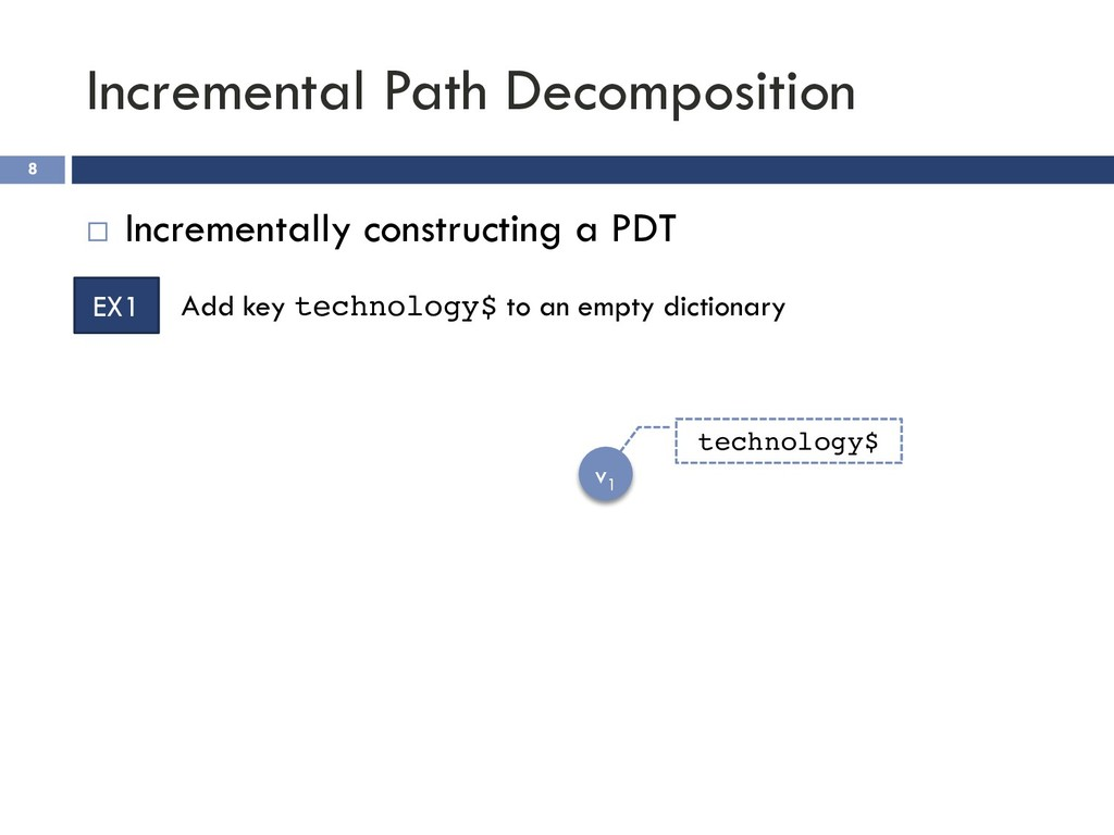 Incremental Path Decomposition 8 ¨ Incrementall...