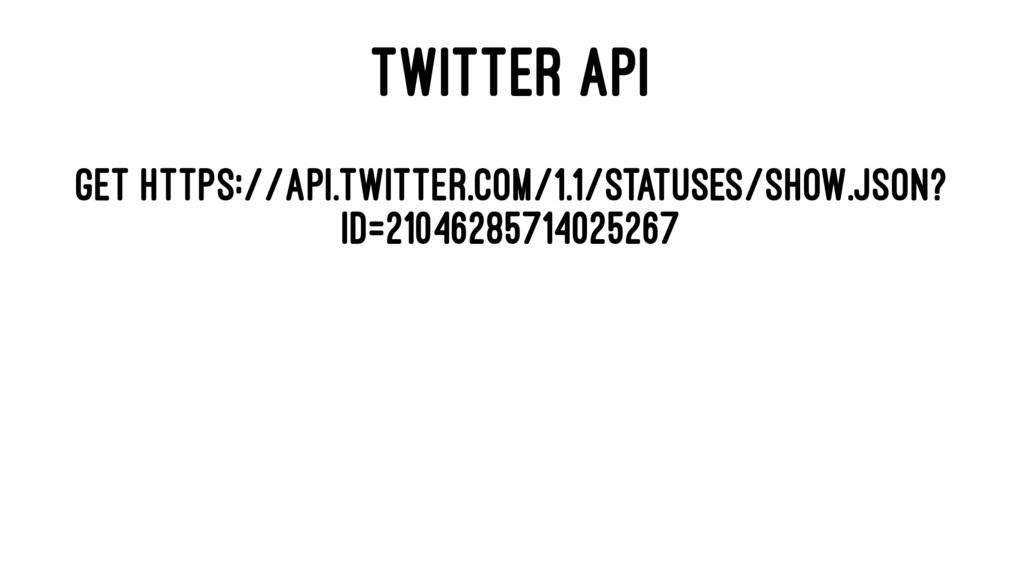 TWITTER API GET https://api.twitter.com/1.1/sta...