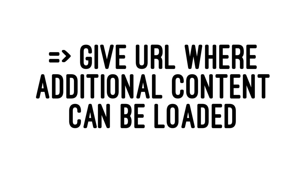 => GIVE URL WHERE ADDITIONAL CONTENT CAN BE LOA...
