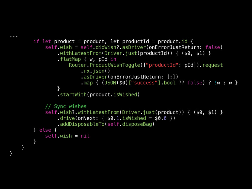 ... if let product = product, let productId = p...