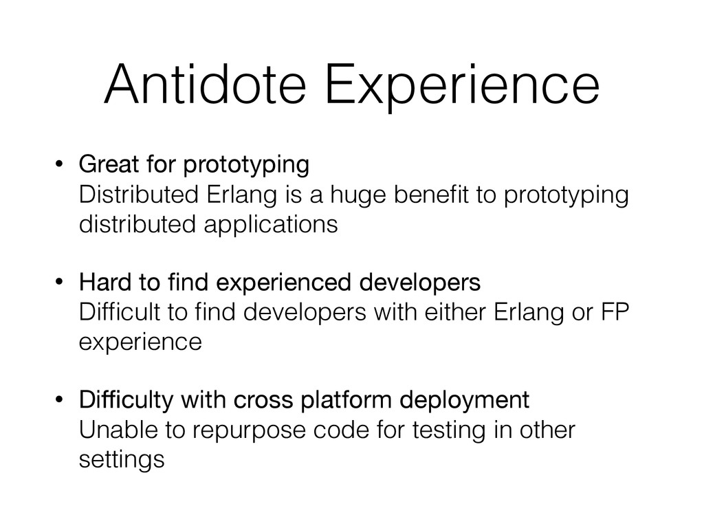 Antidote Experience • Great for prototyping Di...