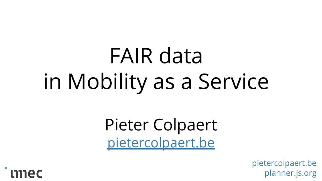 pietercolpaert.be planner.js.org Pieter Colpaer...