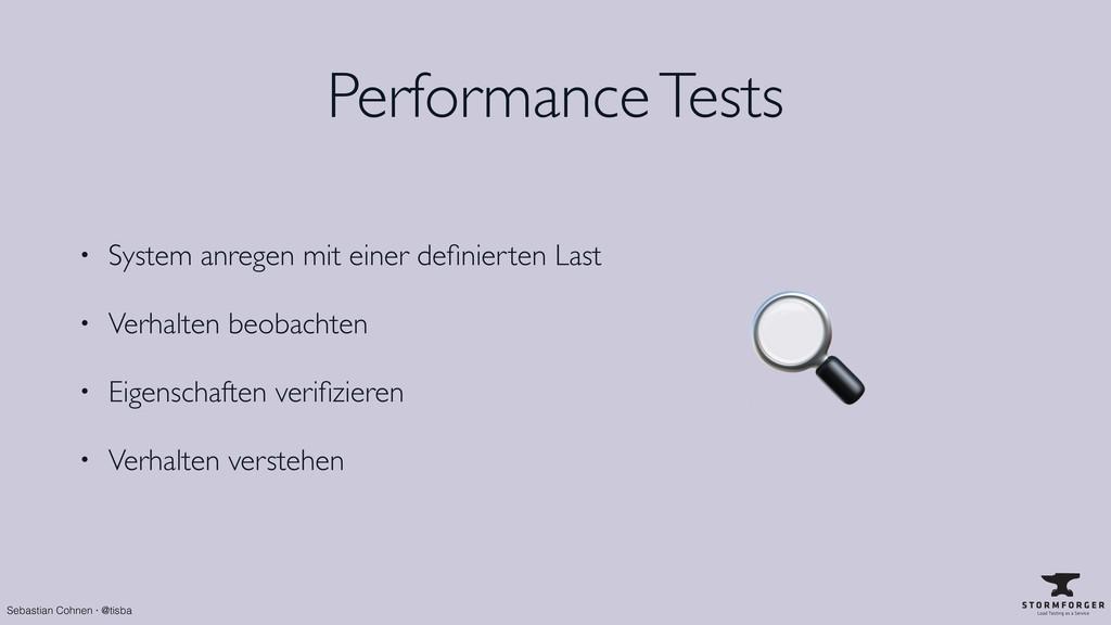 Sebastian Cohnen · @tisba Performance Tests • S...