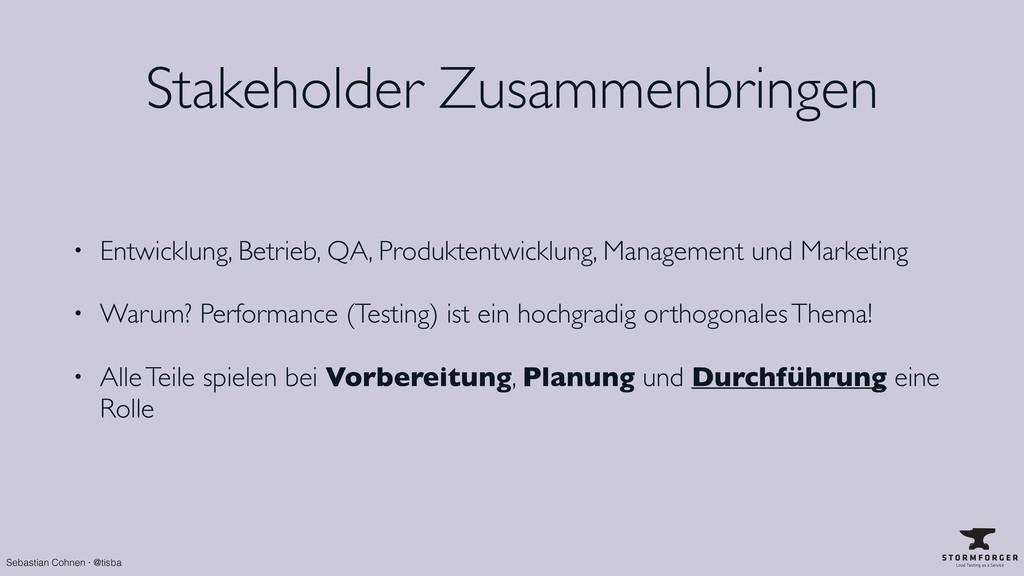 Sebastian Cohnen · @tisba Stakeholder Zusammenb...