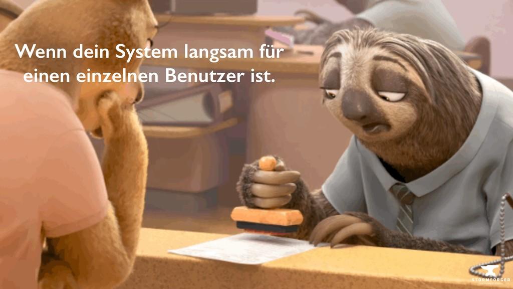 Sebastian Cohnen · @tisba Wenn dein System lang...