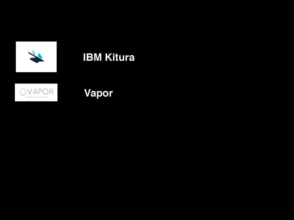 IBM Kitura Vapor