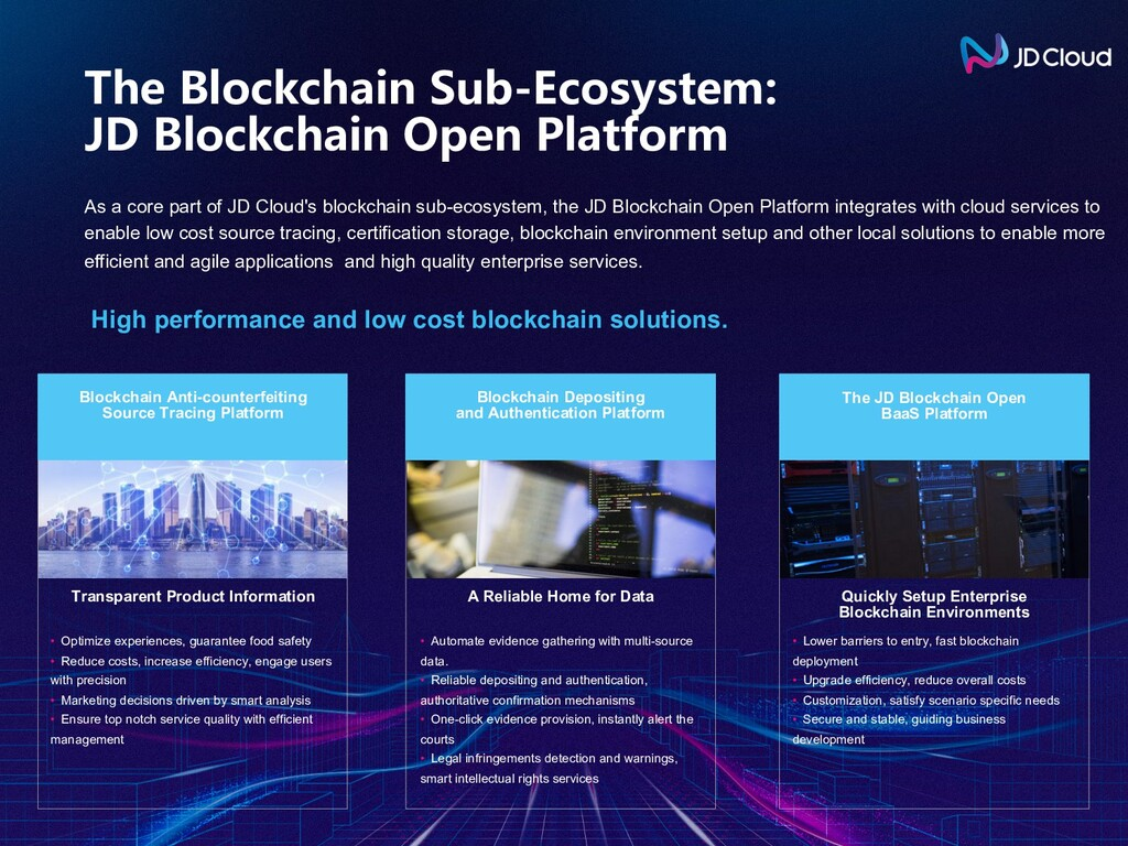 As a core part of JD Cloud's blockchain sub-eco...