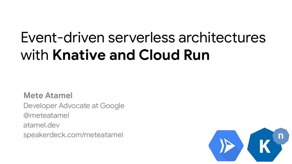 Event-driven serverless architectures with Knat...