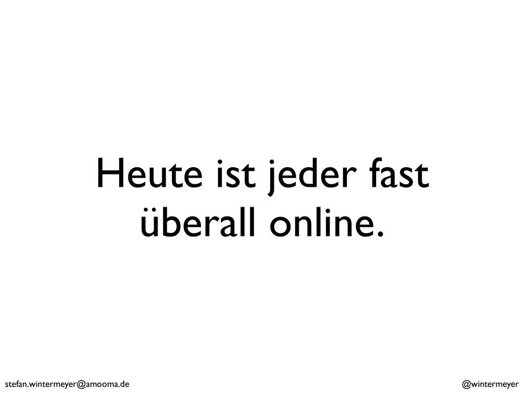 stefan.wintermeyer@amooma.de @wintermeyer Heute...