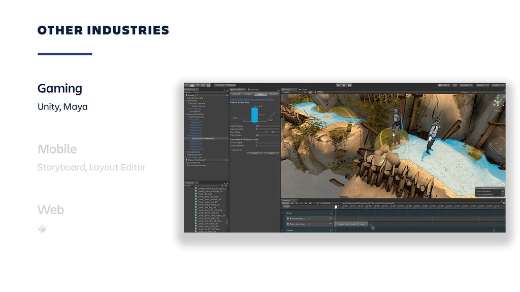 OTHER INDUSTRIES Gaming Unity, Maya Mobile Stor...