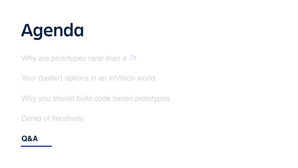 Agenda Why are prototypes rarer than a  Your (b...