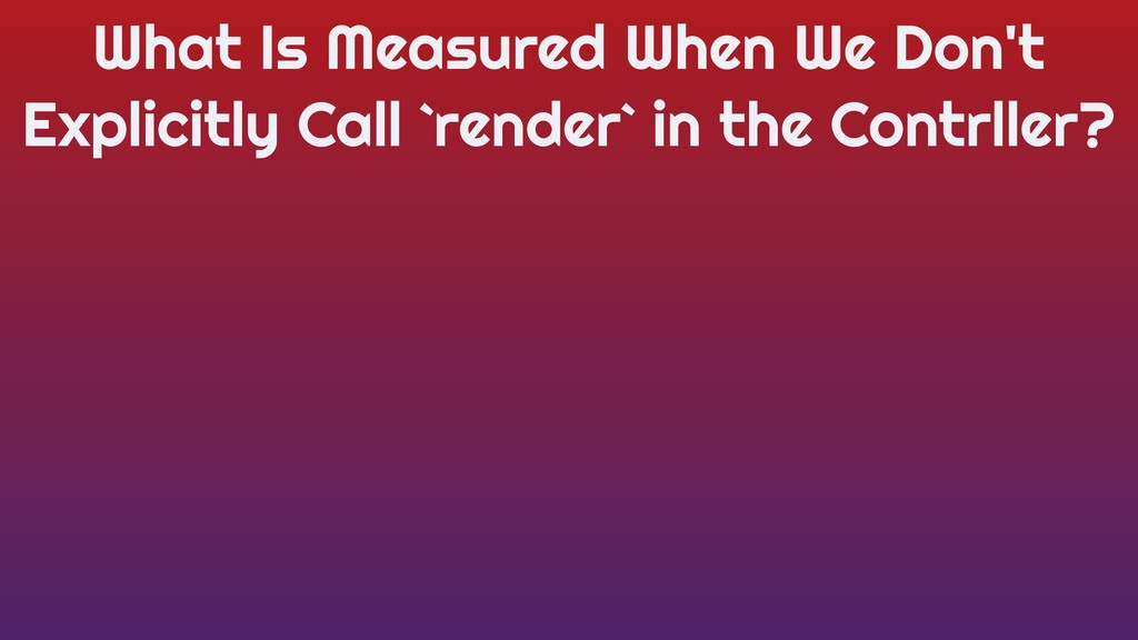 What Is Measured When We Don't Explicitly Call ...