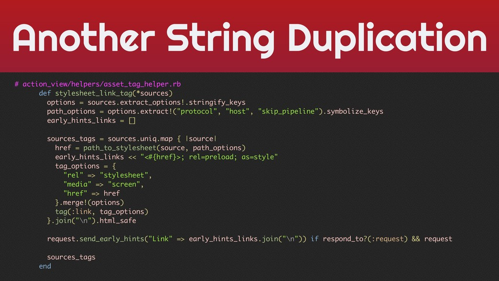 Another String Duplication # action_view/helper...