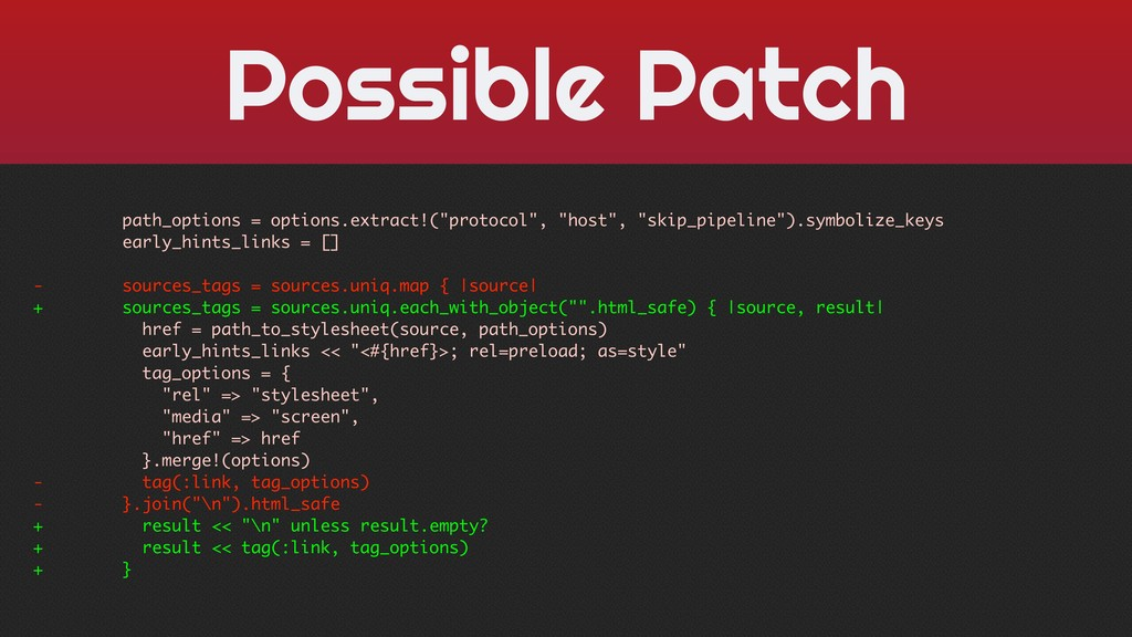 Possible Patch path_options = options.extract!(...