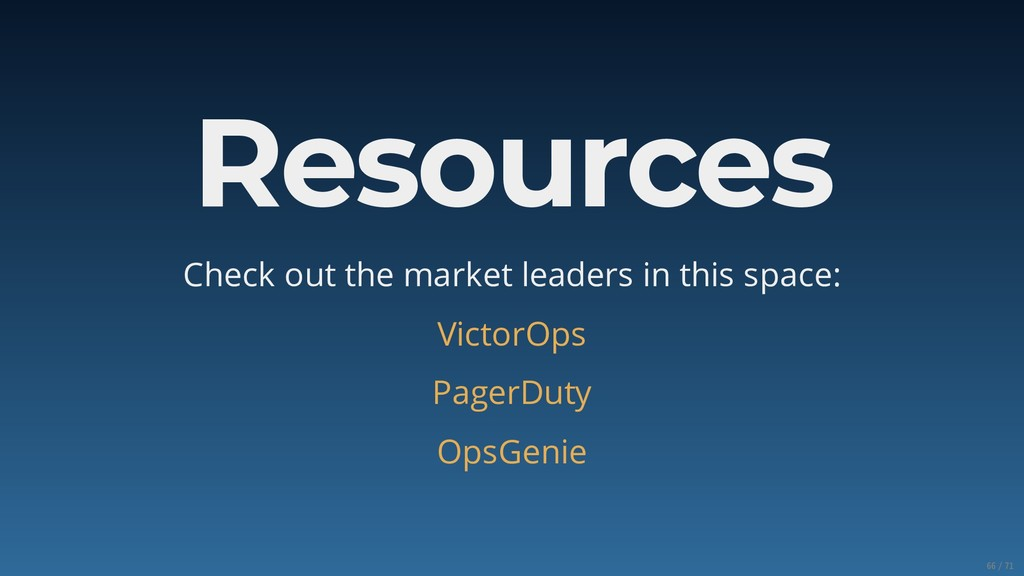Resources Check out the market leaders in this ...