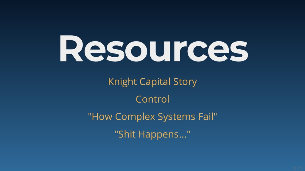 """Resources Knight Capital Story Control """"How Com..."""