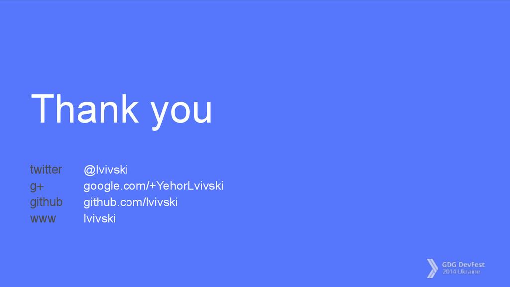 Thank you @lvivski google.com/+YehorLvivski git...