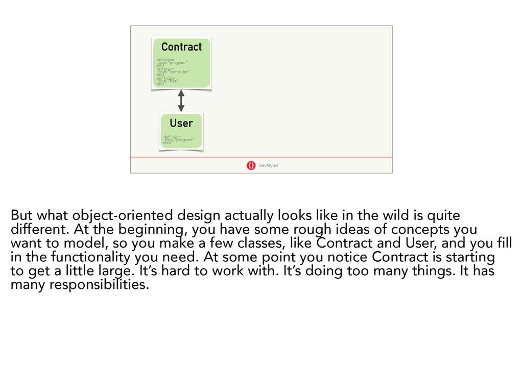 "DevMynd Contract User def lorem puts ""program"" ..."